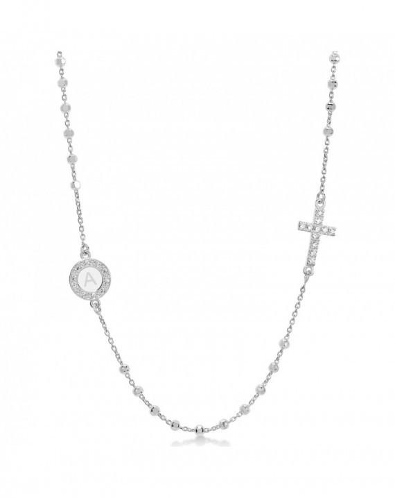 Girocollo rosario